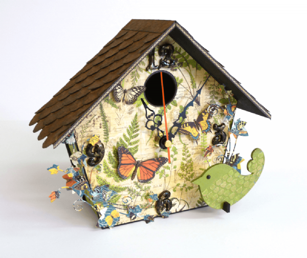 Bird House Clock